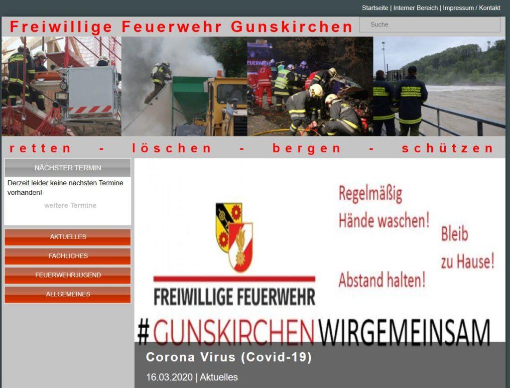 Webseite 2013-2020